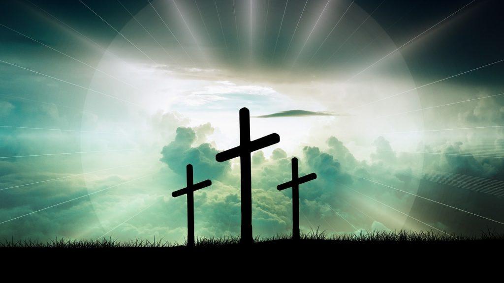 Christian Workout Easter Cross