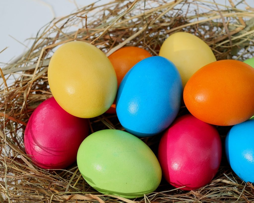 Christian Workout Easter Eggs