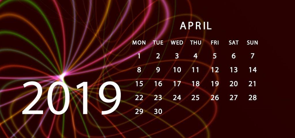 Christian Workout Easter Calendar
