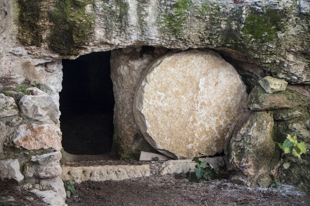 Easter Joy Empty Tomb